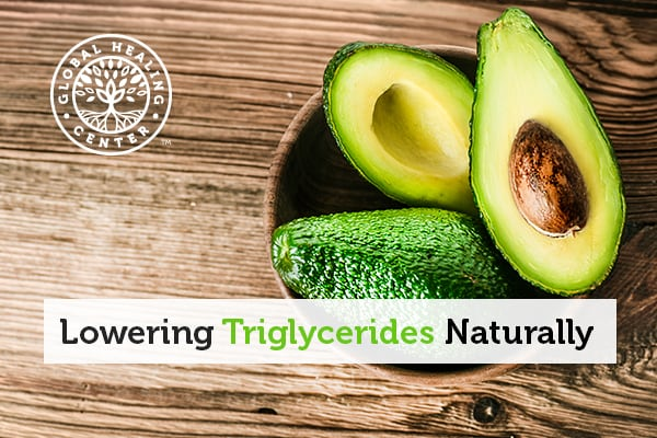 Avocado is one of many foods that help lower triglyceride levels.