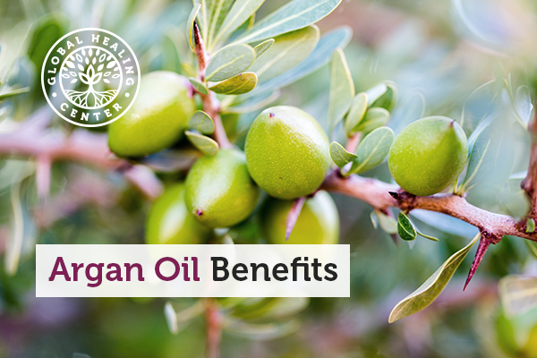 An argan tree. Argan oil benefits your skin, heart, and more.