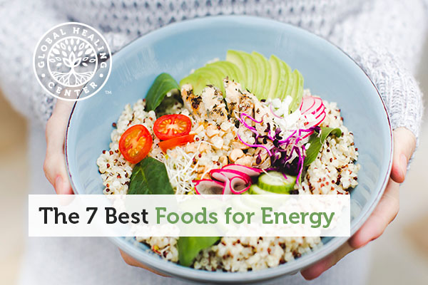 A bowl of healthy foods for more energy.