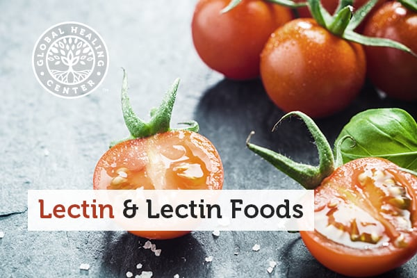 Several tomatoes. Tomatoes are a food high in lectins.