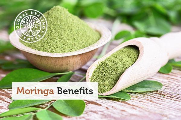 A bowl of moringa powder. Moringa's benefits are endless!