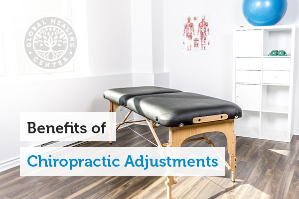 A chiropractic table.