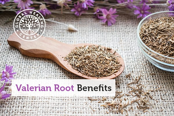 A bowl of valerian root.