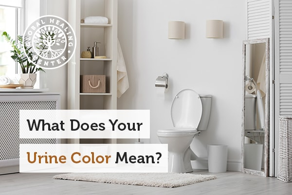 A white bathroom. What Does Your Urine Color?
