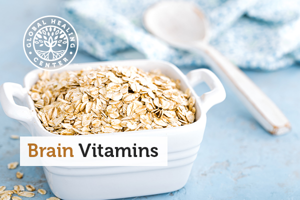 A bowl of oats. Oats are a brain boosting food.