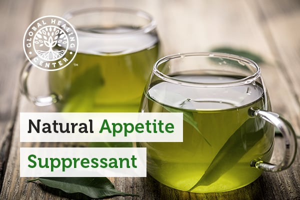 Cups of green tea that are natural appetite suppressants!