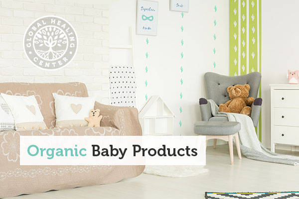A nursery filled with toys and baby products.