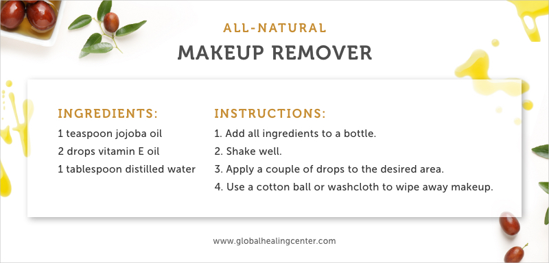 Try this easy makeup remover recipe that'll leave your skin feeling refreshed.