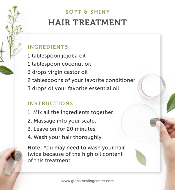 Try this hair treatment that'll make your hair feel soft, shiny, and new!