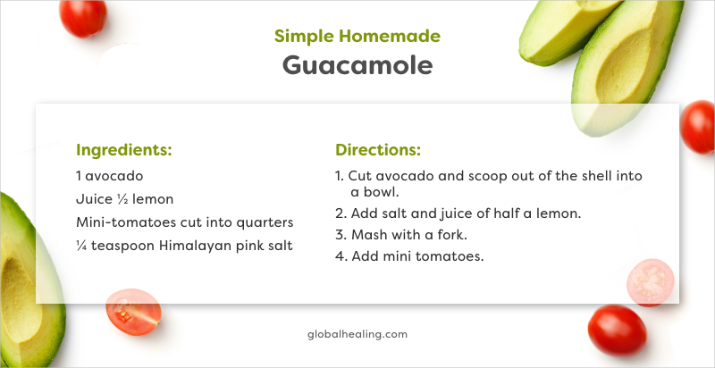 Simple Homemade Guacamole Recipe
